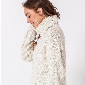 Sweaters - NEW🎈Oversized chunky turtleneck sweater